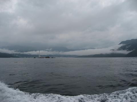 須賀利巡航船から見る尾鷲湾