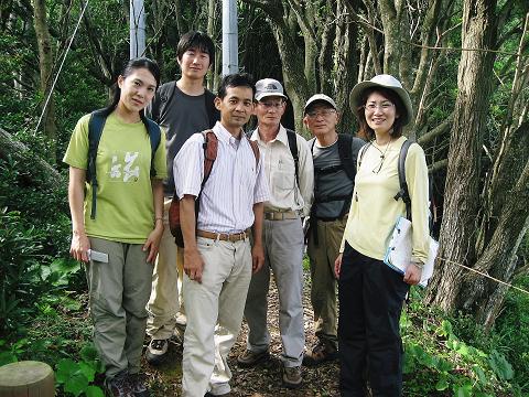 くまの体験企画ガイド6人の集合写真