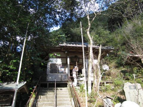 紀北町の古刹・有久寺