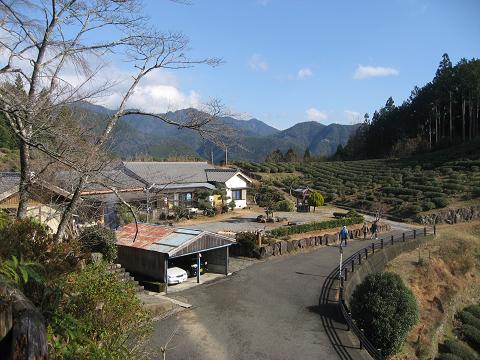熊野古道中辺路・伏拝の風景