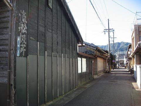 尾鷲市の旧町内(明慶町)
