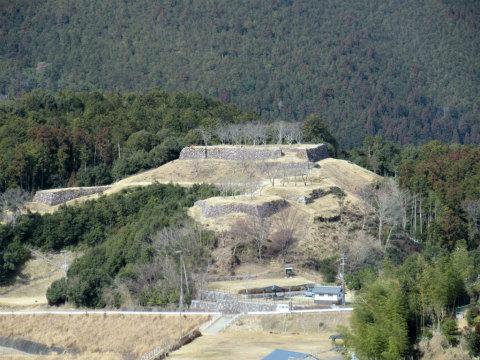 熊野市紀和町の赤木城跡