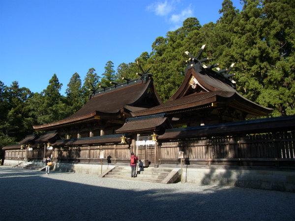 熊野本宮大社の社殿