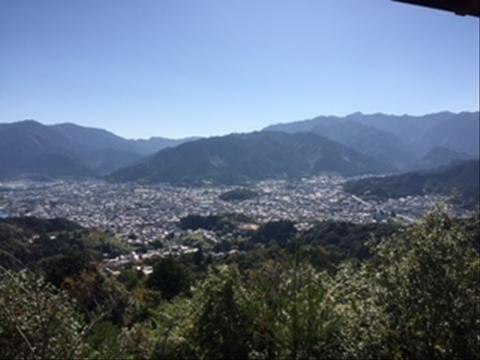 馬越公園展望台からの眺め