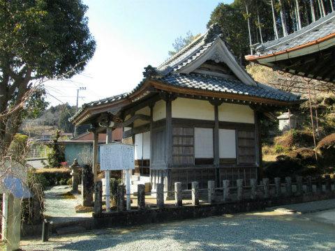 熊野市五郷町の光福寺皇霊殿