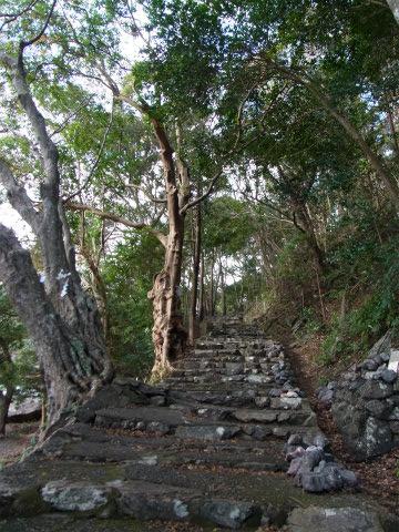 仙宮神社の石段