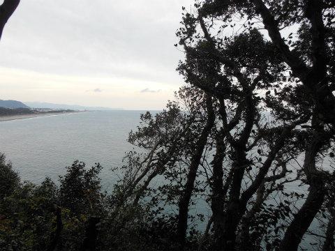 熊野古道中辺路・高野坂の鯨山見跡からの眺め
