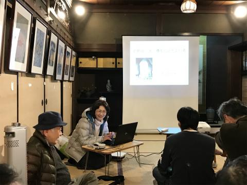 紀南ツアーデザインセンターで講演する内山裕紀子