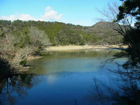 紀北町の大白池