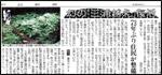 中日新聞の紀伊半島みる観る探検隊紹介記事