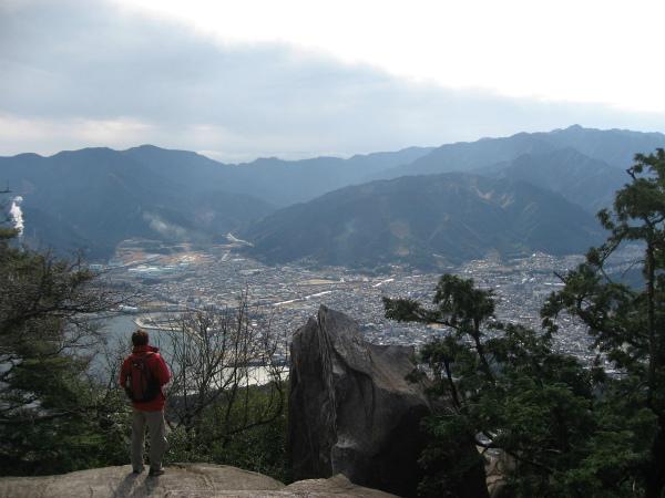 天狗倉山の男性一人旅ツアー