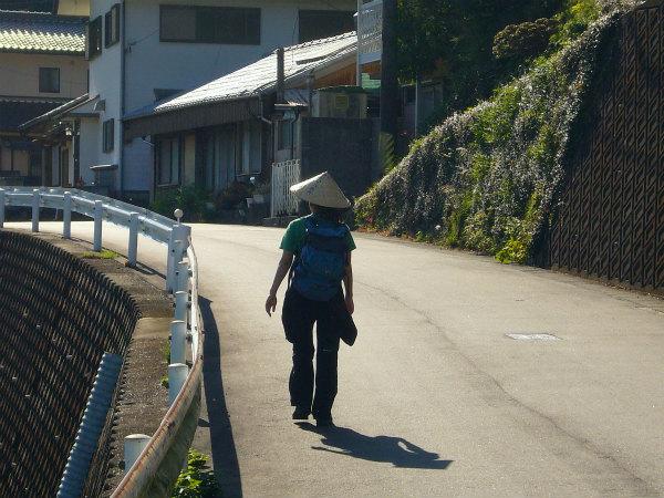 熊野古道女性一人旅応援プランの様子、伊勢路を踏破する